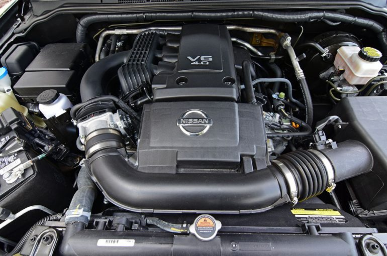 2018 nissan frontier v6 midnight edition 4x4 engine