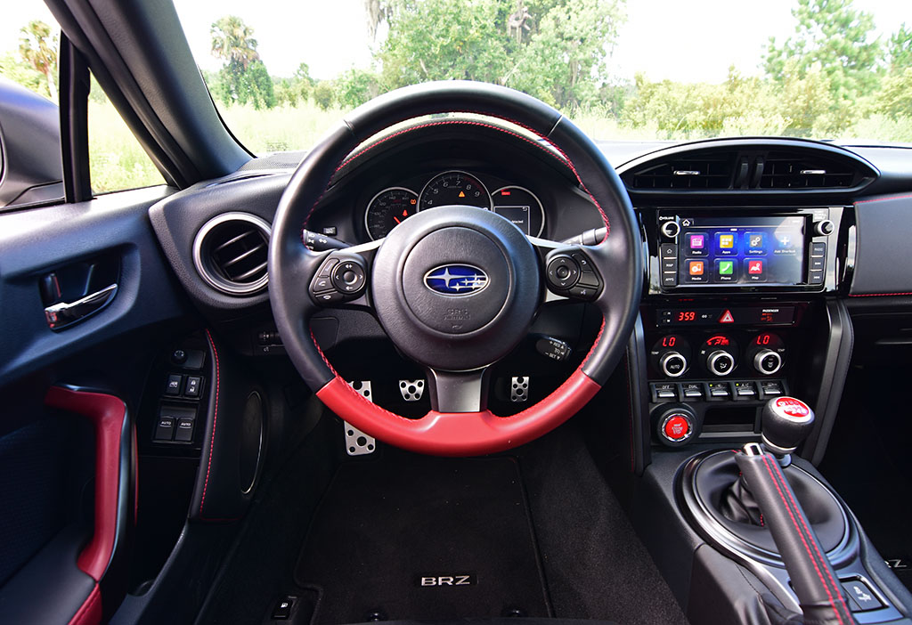 2018 Subaru Brz Ts Steering Wheel