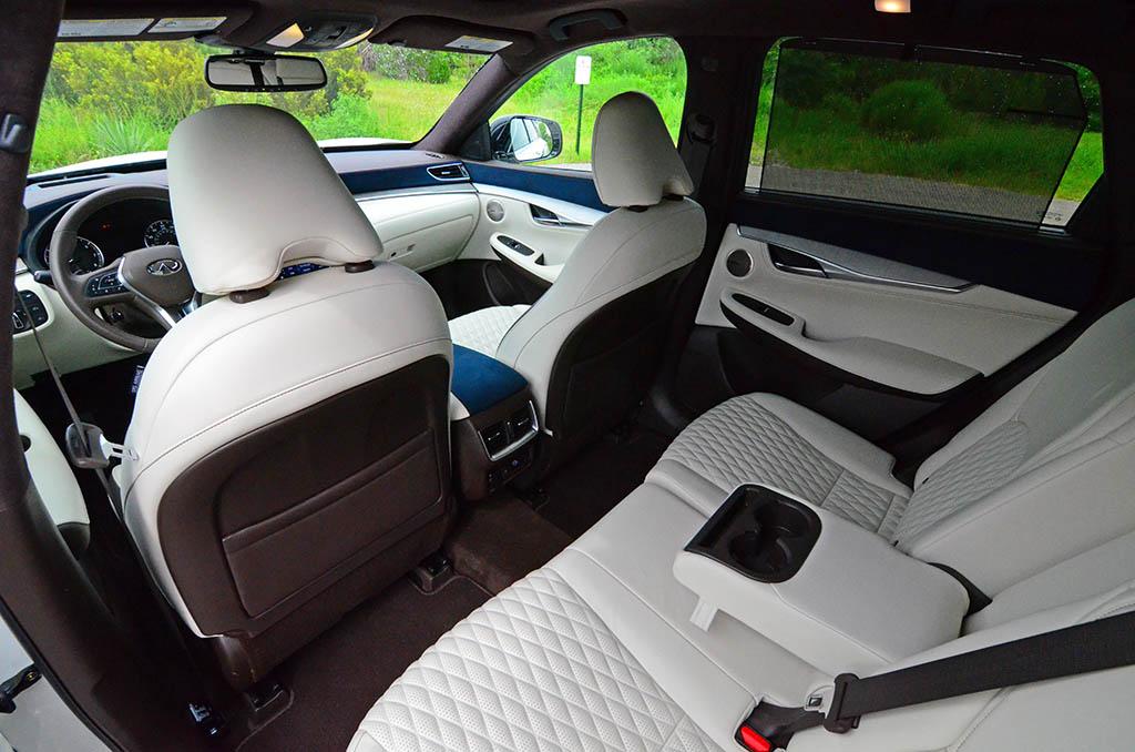 2019 Infiniti Qx50 Interior Cabin Back