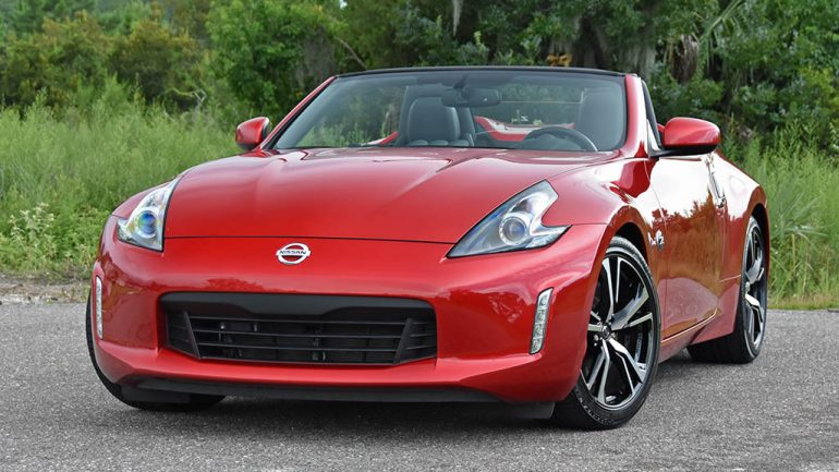 2019 Nissan 370Z Roadster Quick Spin Test Drive Review