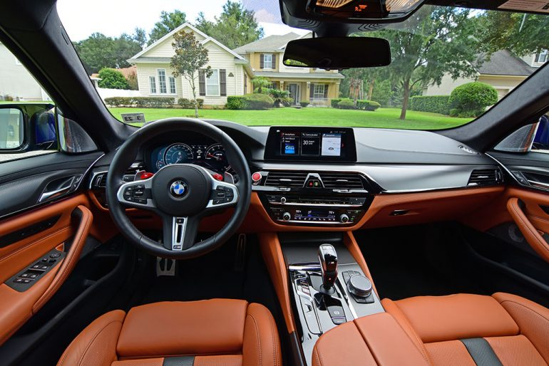 2018 bmw m5 dashboard