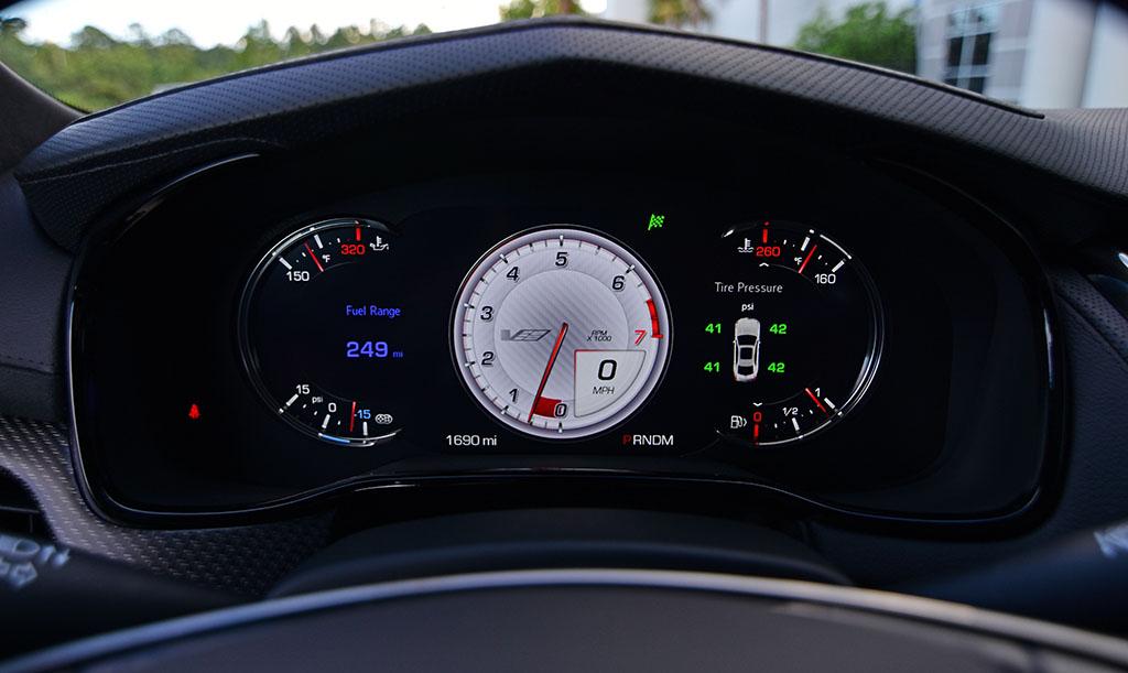 Cts v best gauge screen options