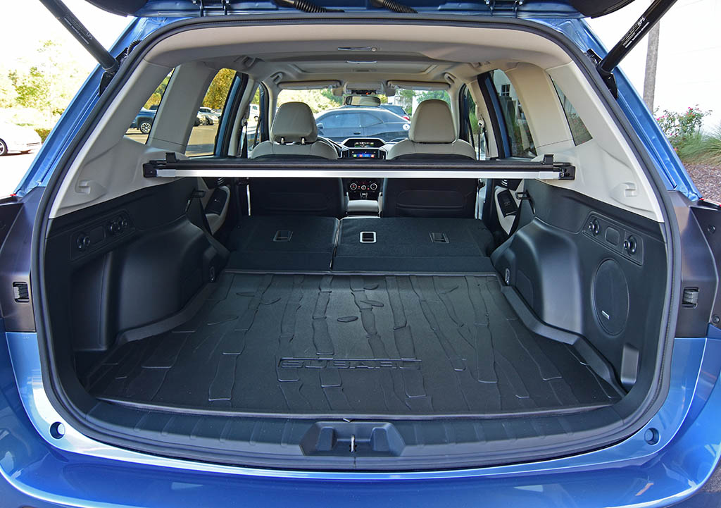 Subaru Forester Cargo Space >> 2019 Subaru Forester Limited Review Test Drive
