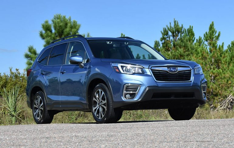 2019 subaru forester limited low