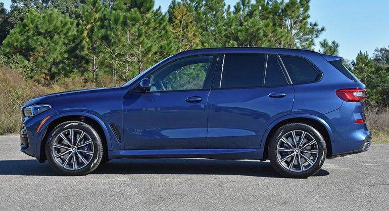 2019 BMW X5 xDrive50i side