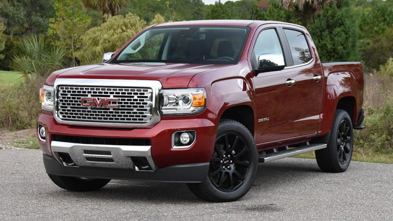 2019 GMC Canyon Denali 4WD Crew Cab Review & Test Drive
