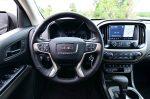 2019 GMC Canyon Denali 4WD steering wheel