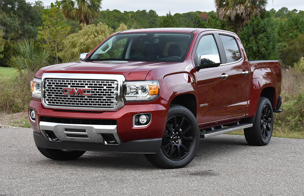 New 2019 Gmc Canyon 4wd All Terrain W Leather Crew Cab Pickup