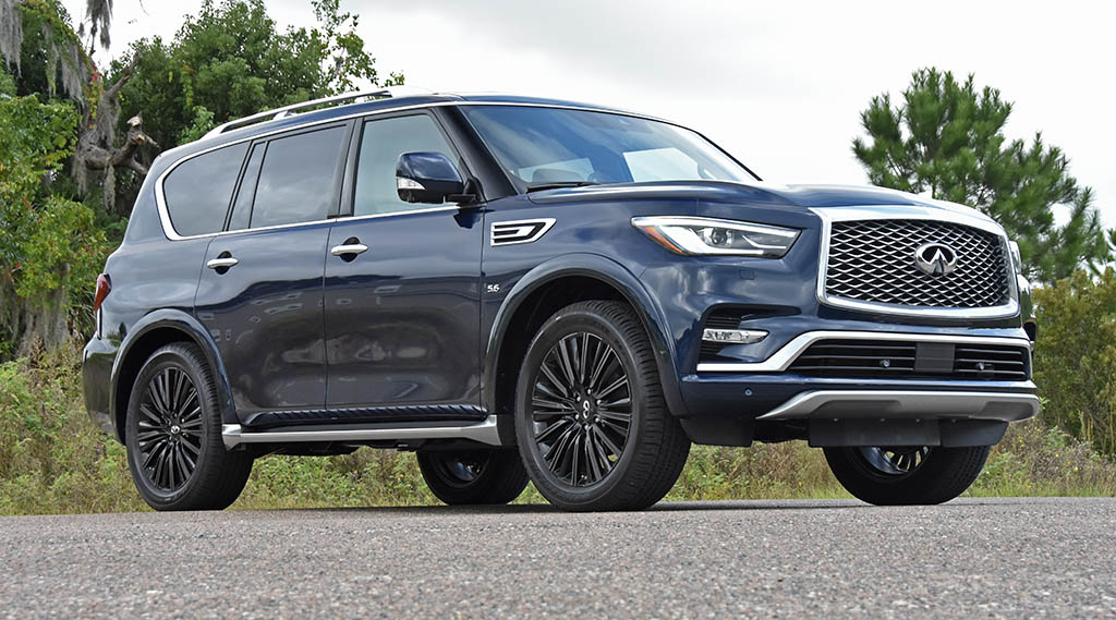 2019 Infiniti QX80 Limited 4WD Review & Test Drive