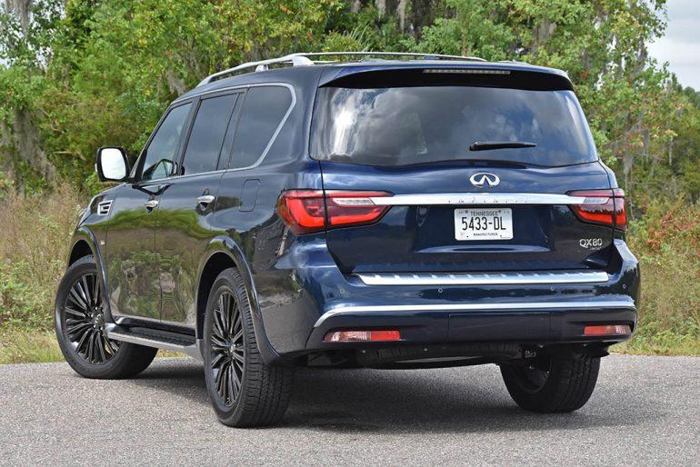 2019 infiniti qx80 limited rear