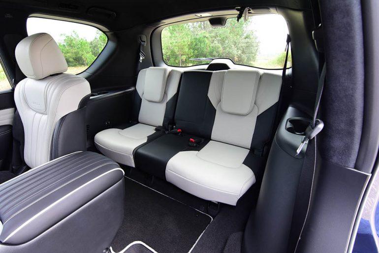 2019 infiniti qx80 limited third row seats