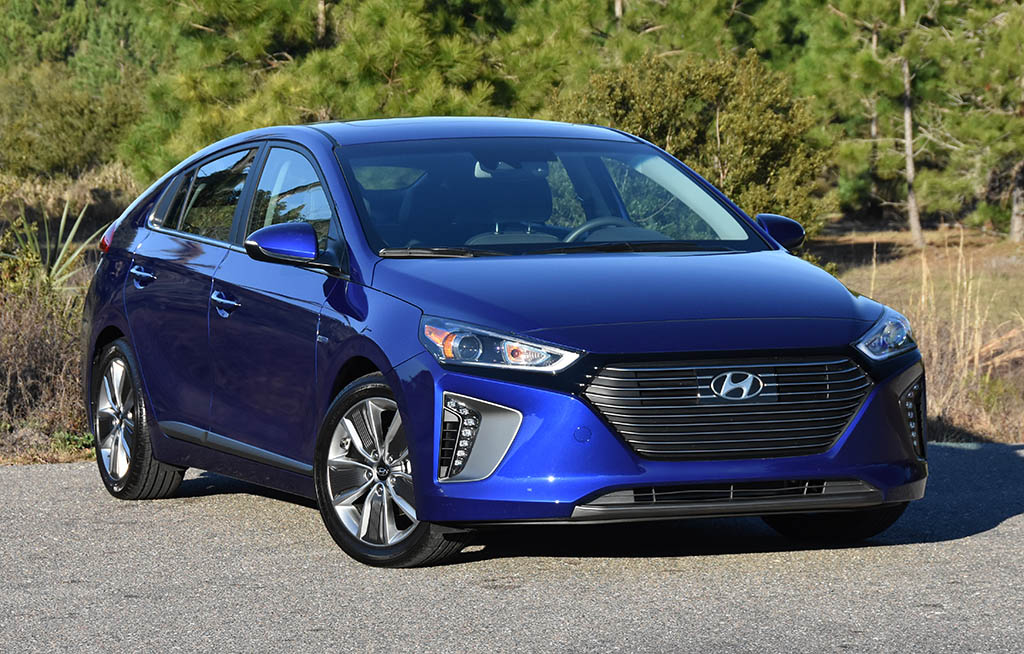2019 Hyundai Ioniq Hybrid Limited Quick Spin Test Drive Review