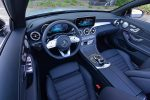 2019 mercedes-benz c300 cabriolet dashboard