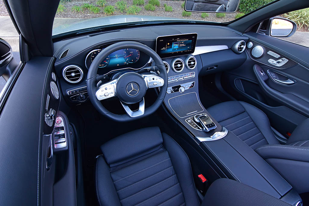 2019 Mercedes-Benz C300 4MATIC Cabriolet Review & Test ...