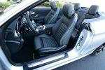 2019 mercedes-benz c300 cabriolet front seats