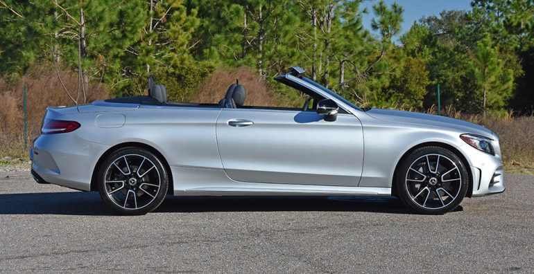 2019 mercedes-benz c300 cabriolet side