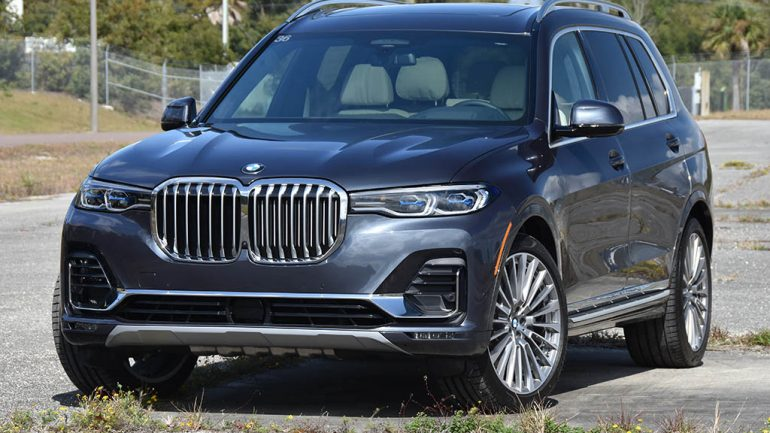 2019 BMW X7 xDrive50i Quick Spin
