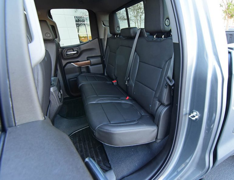 2019 chevrolet silverado rst regular cab back seats