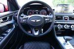 2019 genesis g70 3.3t sport steering wheel