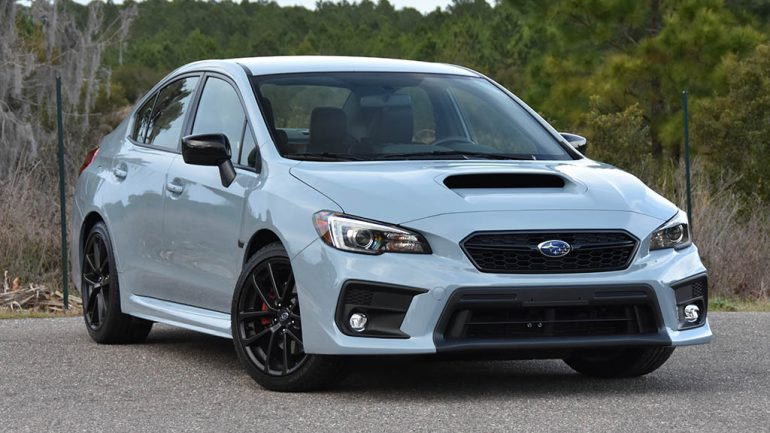 2019 Subaru WRX Series.Gray Review & Test Drive