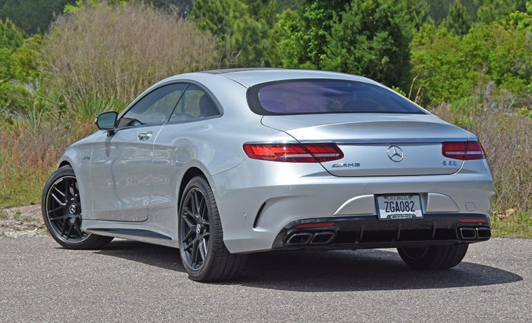 2019 mercedes-amg s63 coupe rear