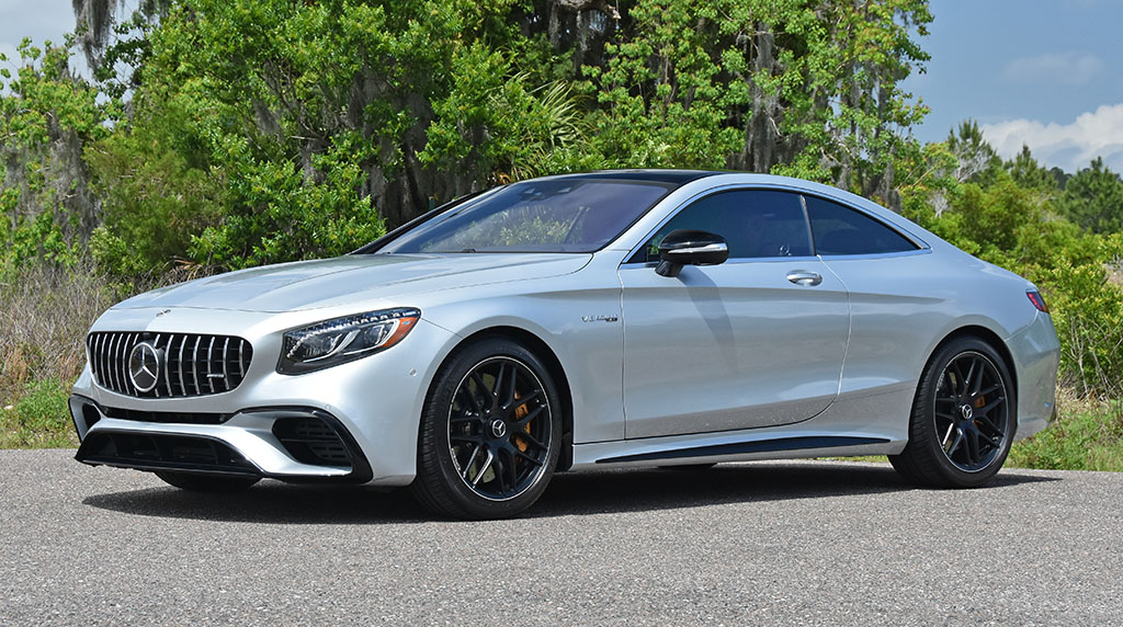 2019 Mercedes Amg S63 Coupe Review Test Drive