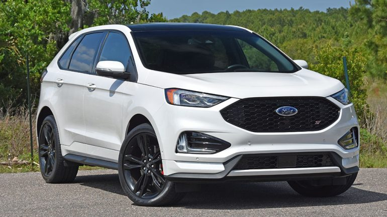 2019 Ford Edge ST Review & Test Drive