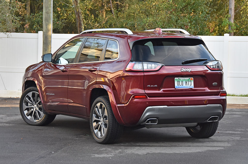 2019 Jeep Cherokee Overland 4 4 Review Test Drive Automotive Addicts