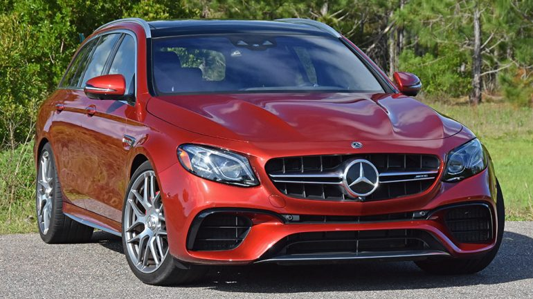 2019 Mercedes-AMG E63S Wagon Review & Test Drive