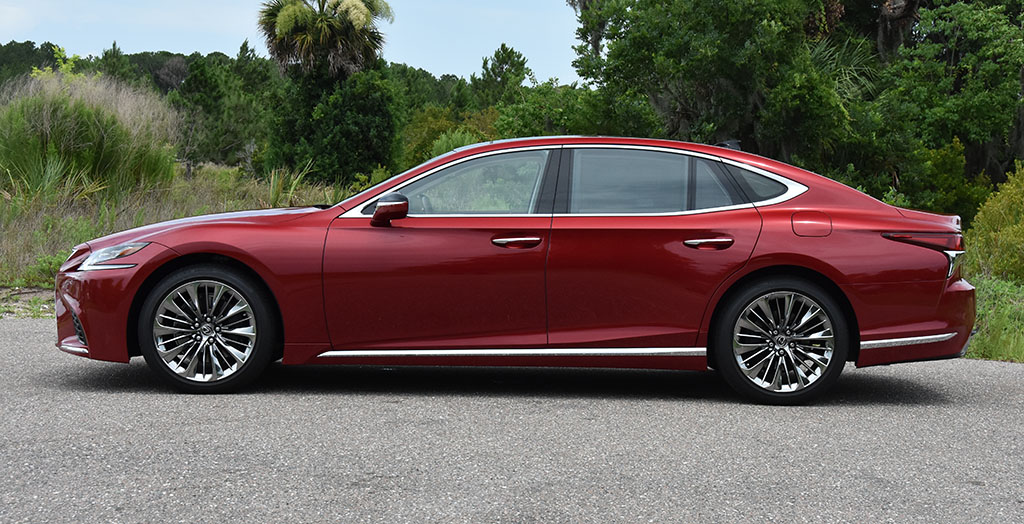 2019 Lexus LS 500 Review & Test Drive : Automotive Addicts
