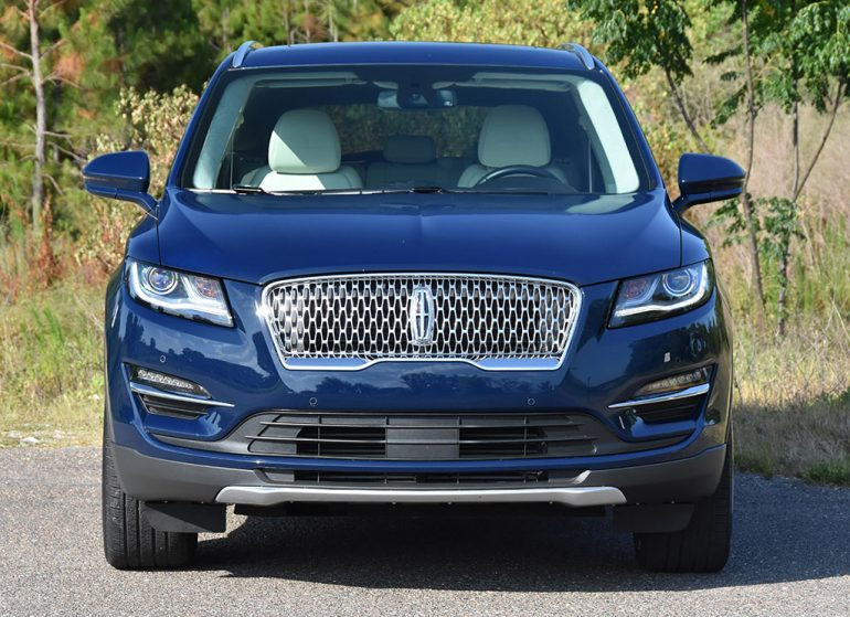 2019 lincoln mkc black label front