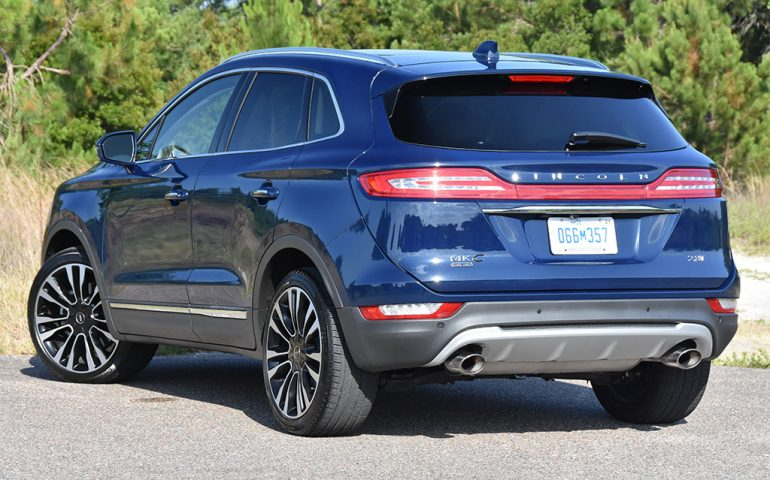 2019 lincoln mkc black label rear