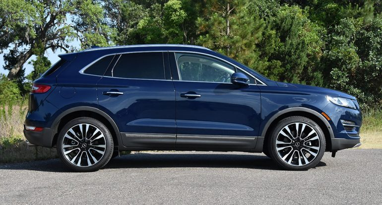 2019 lincoln mkc black label side