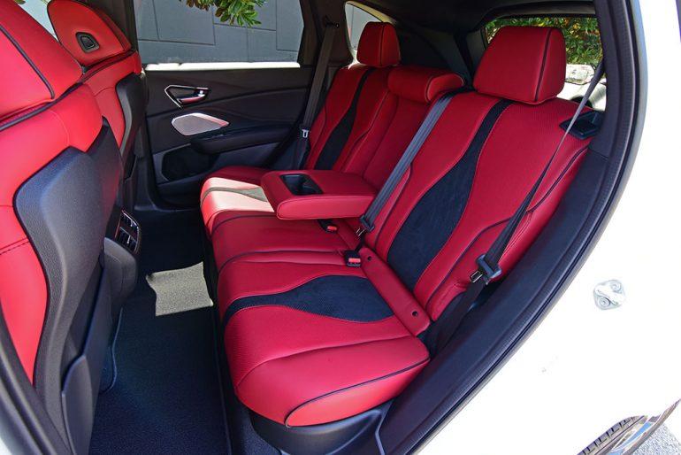 2020 acura rdx a-spec rear seats
