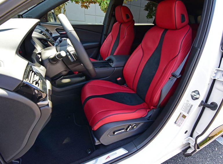 2020 acura rdx a-spec front seats
