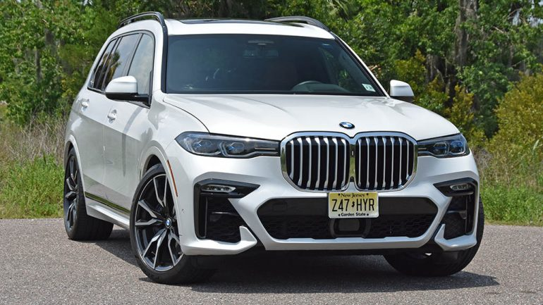 2019 BMW X7 xDrive50i Review & Test Drive