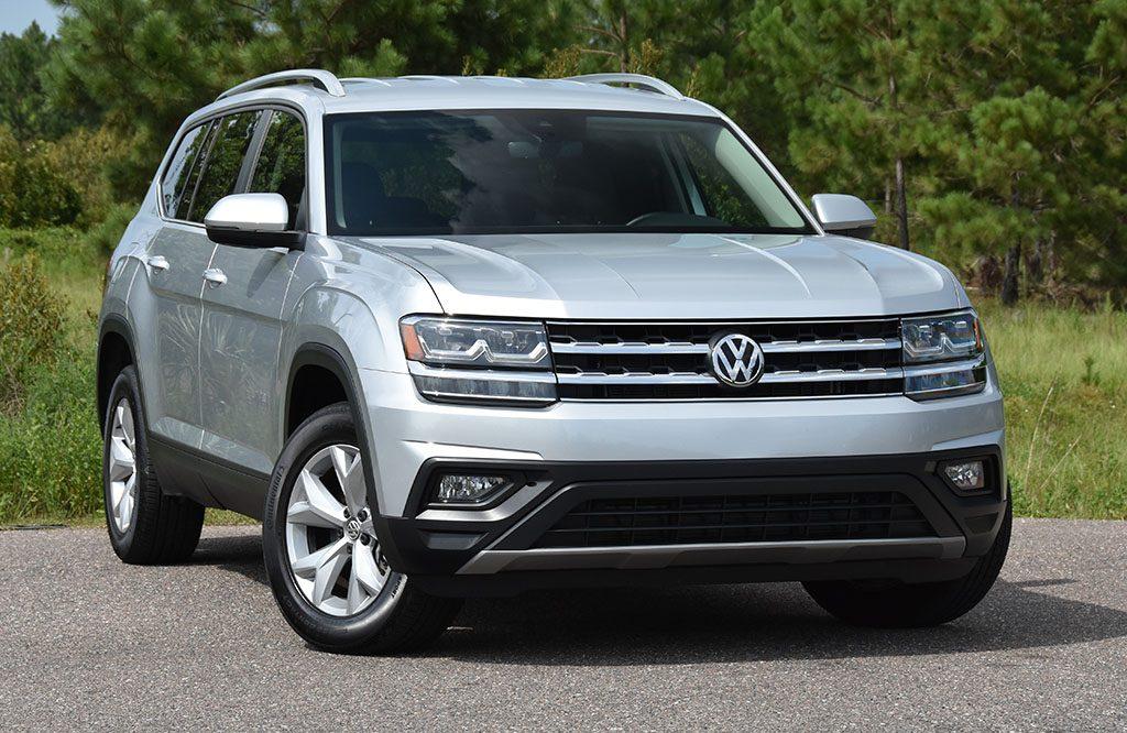 2019 Volkswagen Atlas V6 Se Technology Review Test Drive Automotive Addicts