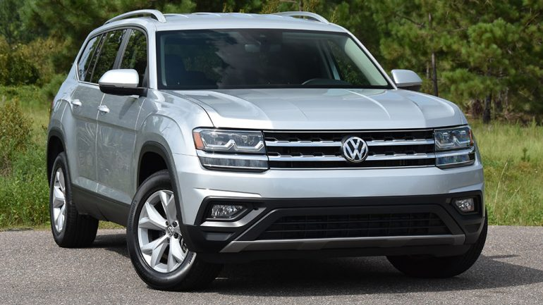 2019 Volkswagen Atlas V6 SE Technology Review & Test Drive