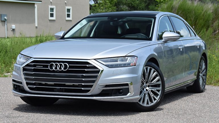 2019 Audi A8L quattro Review & Test Drive