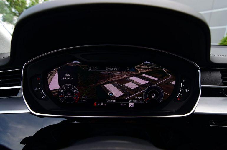 2019 audi a8l virtual cockpit