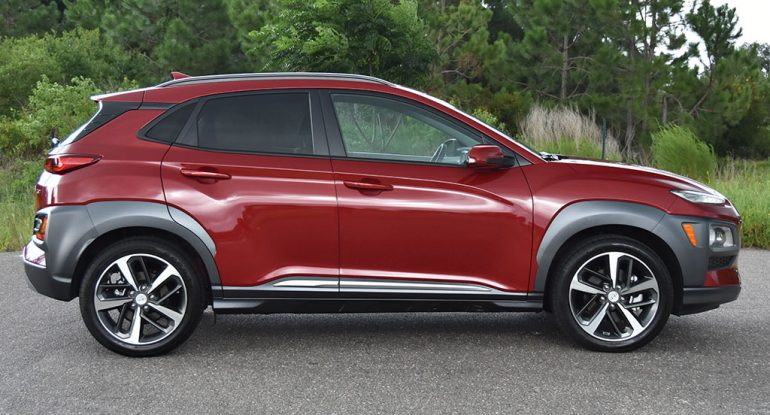 2019 hyundai kona side