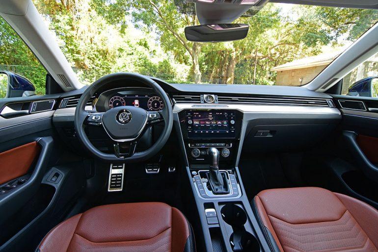 2019 volkswagen arteon dashboard
