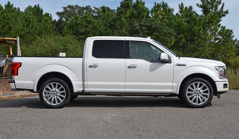 2019 ford f-150 limited side
