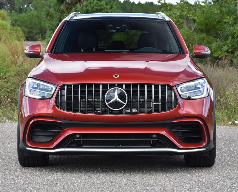 2020 mercedes-amg glc 63 front grille