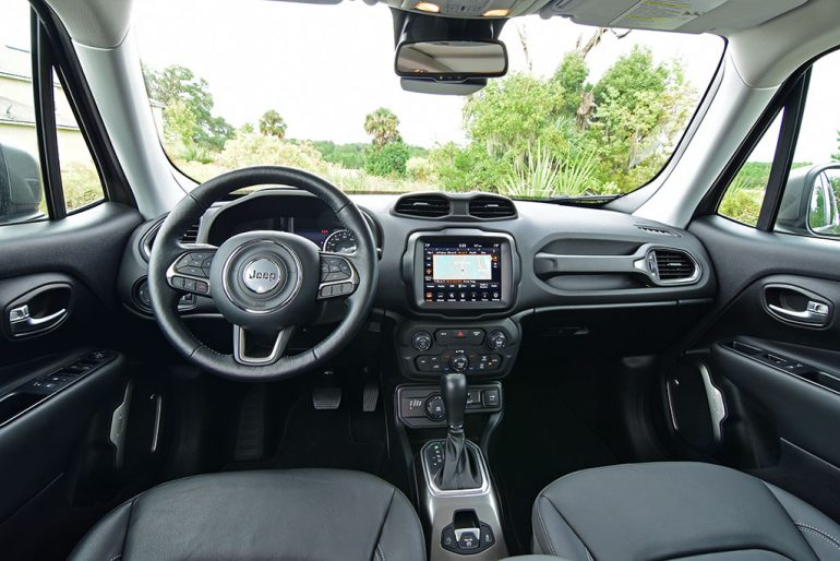 2019 jeep renegade limited 4x4 dashboard