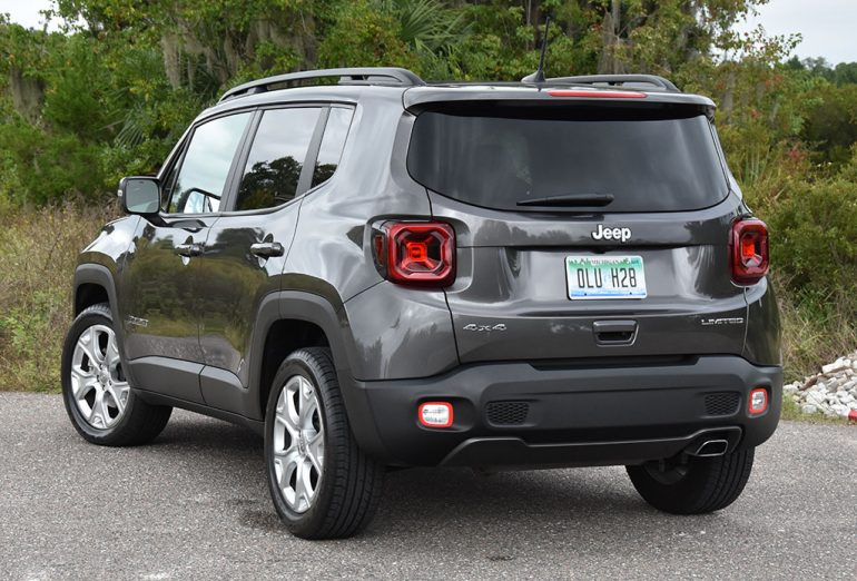 2019 jeep renegade limited 4x4 rear