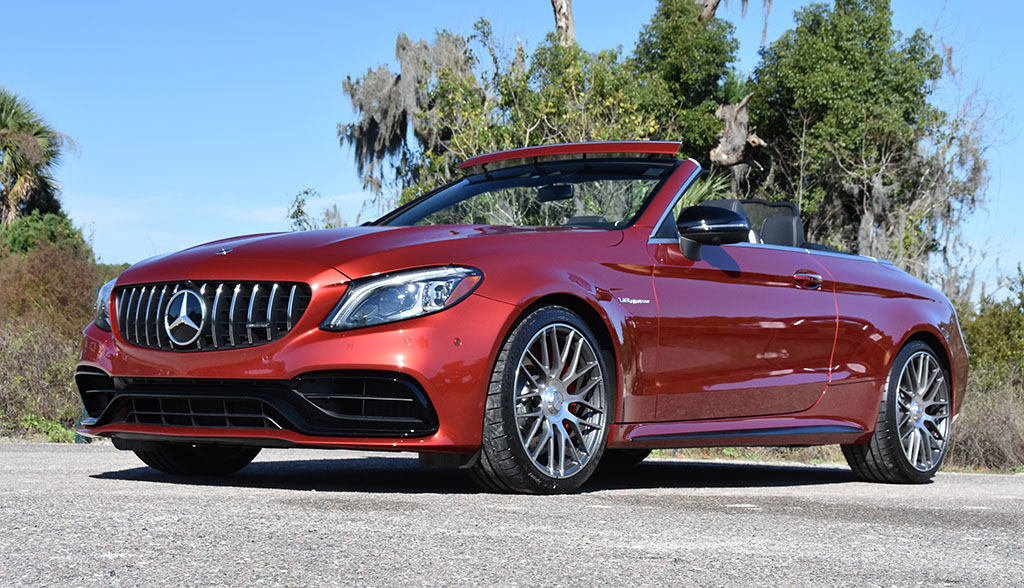 2020 Mercedes-AMG C63 S Cabriolet Review & Test Drive ...