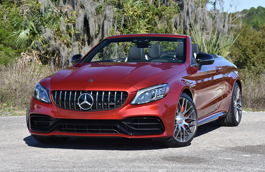 2020 Mercedes Amg C63 S Cabriolet Review Test Drive Automotive Addicts