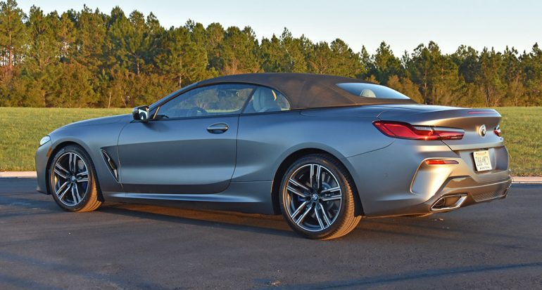 2020 bmw 840i convertible top up