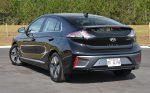2020 hyundai ioniq hybrid rear